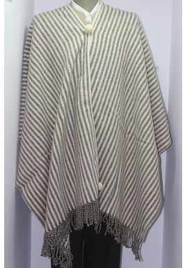 STRIPES PONCHO