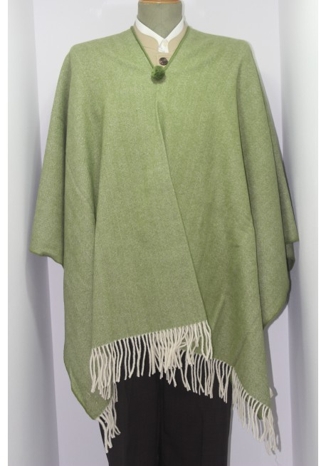 BIG HERRINGBONE PONCHO