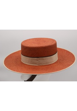 DOUBLE PANAMA HAT
